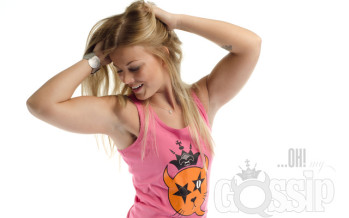 Ohmygossip Couture fashion gallery with Finnish fitness star Janni Hussi