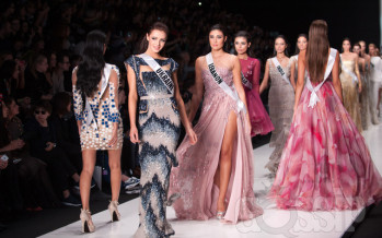 Miss Universe 2013 @ Tony Ward Fashion Show (Vol2)
