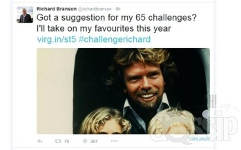 Helena-Reet made 5 challenges to Sir Richard Branson