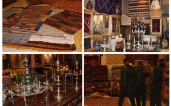 """Chateau Des Souks"" in Marrakech – Moroccan manually woven luxurious carpets! GALLERY!"